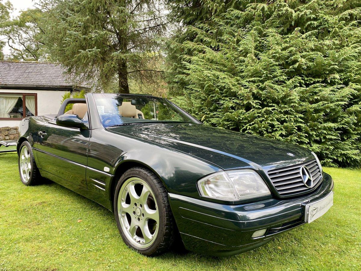 2001 Stunning Designo Alanite Edition Mercedes-Benz SL280 R129 SL For Sale (picture 3 of 6)