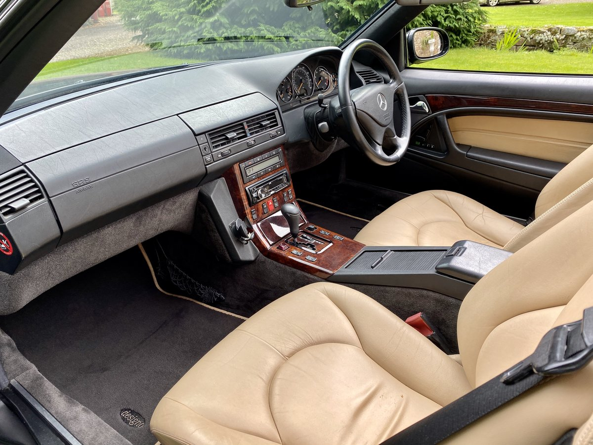 2001 Stunning Designo Alanite Edition Mercedes-Benz SL280 R129 SL For Sale (picture 5 of 6)