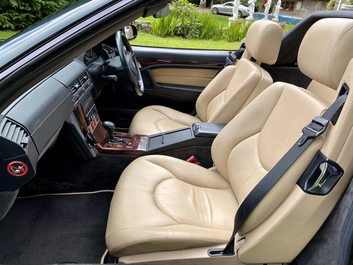 2001 Stunning Designo Alanite Edition Mercedes-Benz SL280 R129 SL For Sale (picture 6 of 6)
