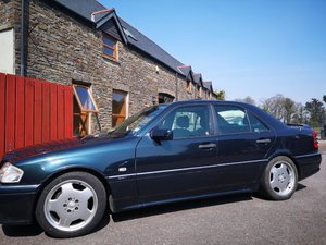 mercedes c36 amg low milage