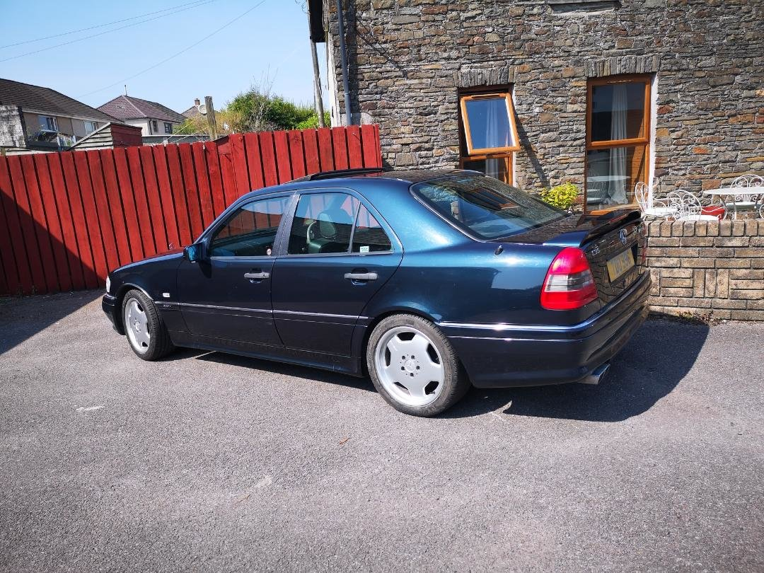 1995 mercedes c36 amg low milage For Sale (picture 3 of 5)
