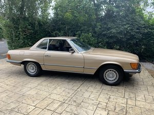 1981 Mercedes 280SL Gold 34,000 miles