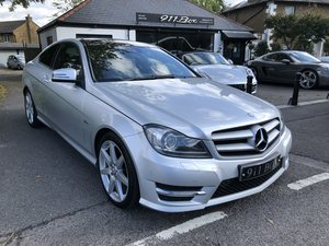 2012 MERCEDES C250 CDI AMG SPORT COUPE AUTOMATIC PANORAMIC ROOF