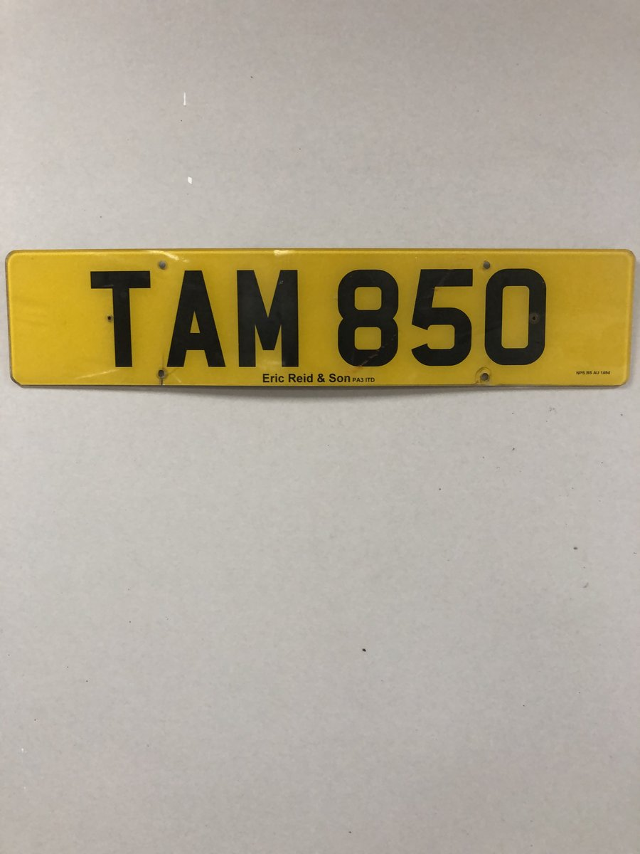 REGISTRATION NUMBER For Sale (picture 2 of 2)
