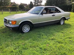 1983 Mercedes 380SEC ONLY 25,096 miles stunning original FSH
