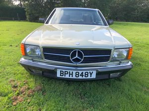 1983 Mercedes 380SEC ONLY 25,096 miles stunning original FSH