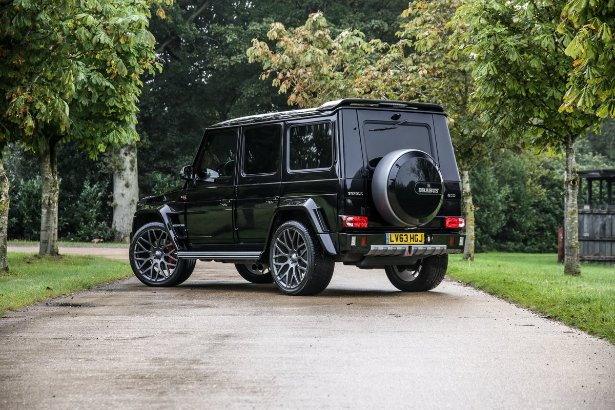 2013 Mercedes G800 V12 Brabus Widestar For Sale (picture 2 of 24)