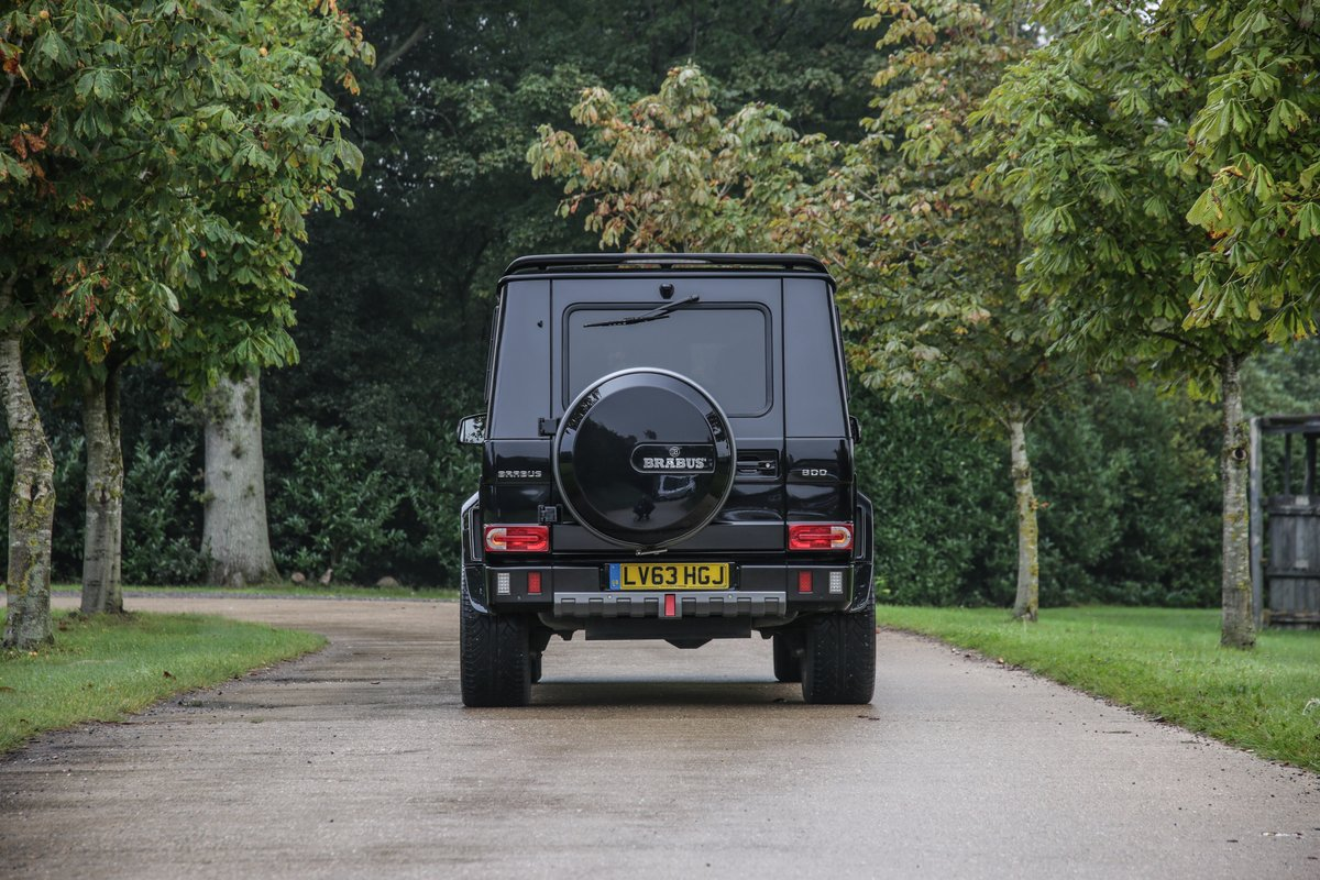 2013 Mercedes G800 V12 Brabus Widestar For Sale (picture 4 of 24)