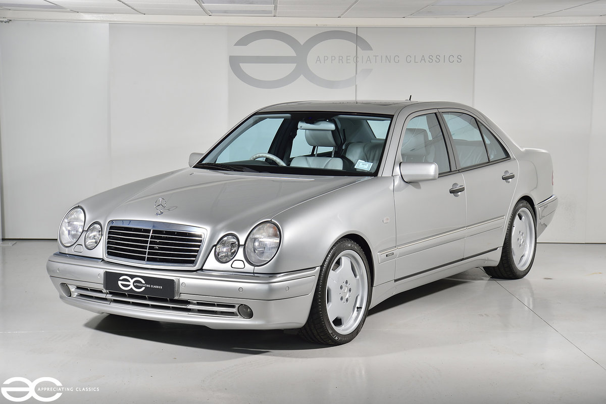1999 Incredible One Owner E55 AMG - 12k Miles For Sale (picture 2 of 6)