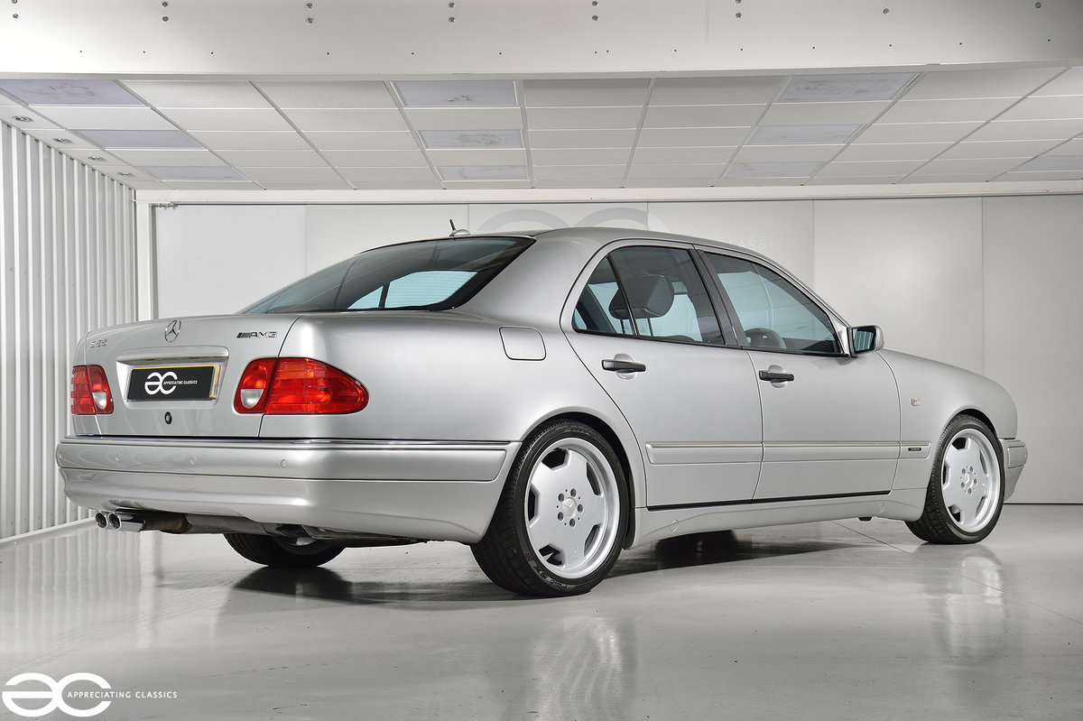 1999 Incredible One Owner E55 AMG - 12k Miles For Sale (picture 3 of 6)