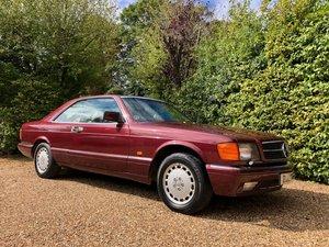 Picture of 1987/D Mercedes 420SEC *SOLD* 91k 560SEC 500 SEC For Sale