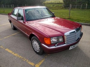 Picture of 1989 Mercedes 420 SE Auto W126 for auction 29th/30th October SOLD by Auction