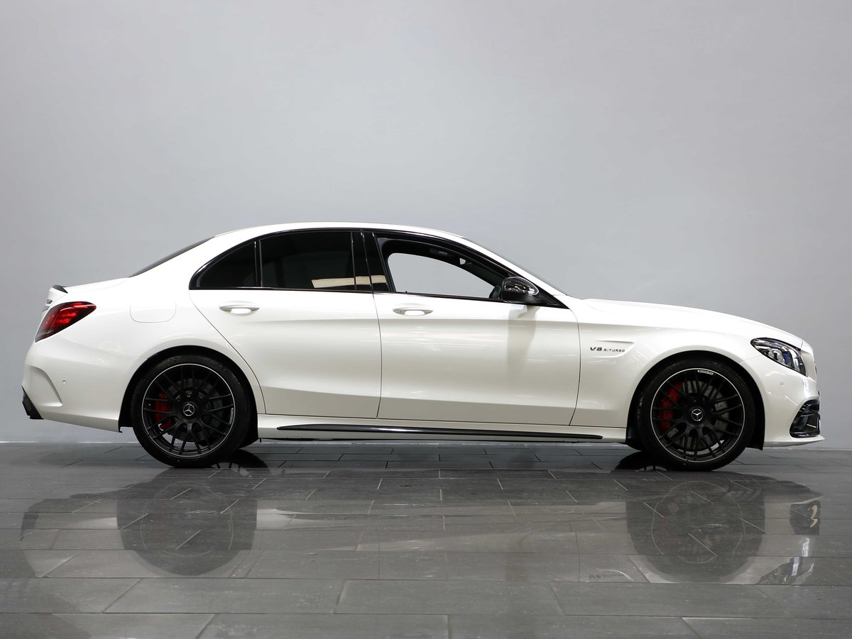 2019 19 69 MERCEDES BENZ C63 S AMG SALOON AUTO For Sale (picture 2 of 6)