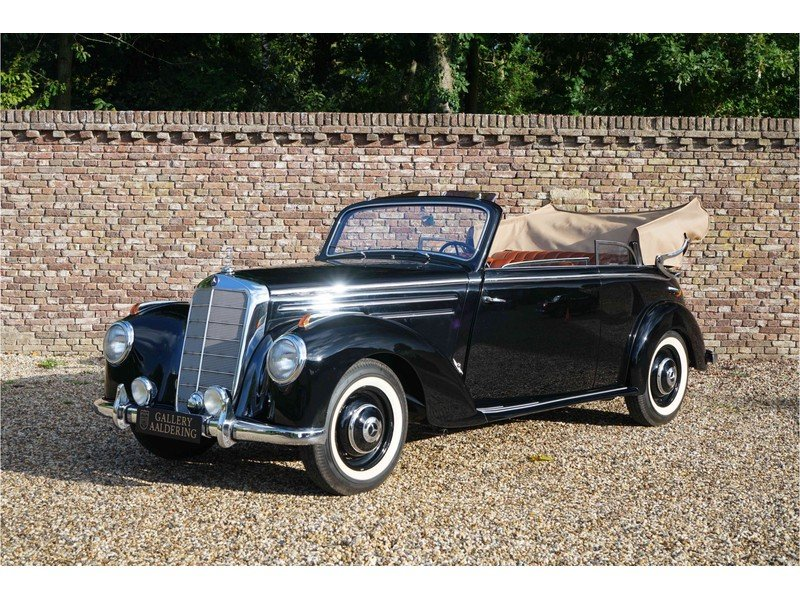 1951 Mercedes-Benz W187 220B Cabriolet Fully and TOP restored exa For Sale (picture 1 of 6)