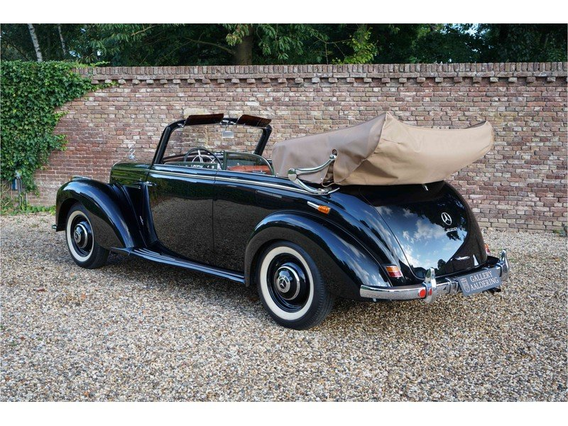 1951 Mercedes-Benz W187 220B Cabriolet Fully and TOP restored exa For Sale (picture 2 of 6)