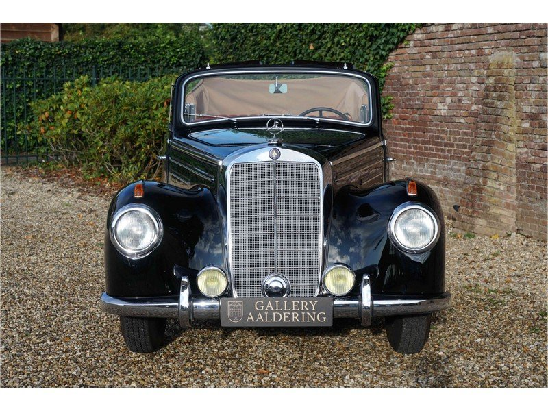 1951 Mercedes-Benz W187 220B Cabriolet Fully and TOP restored exa For Sale (picture 6 of 6)
