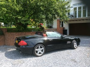 Sept 2005 Mercedes SL350