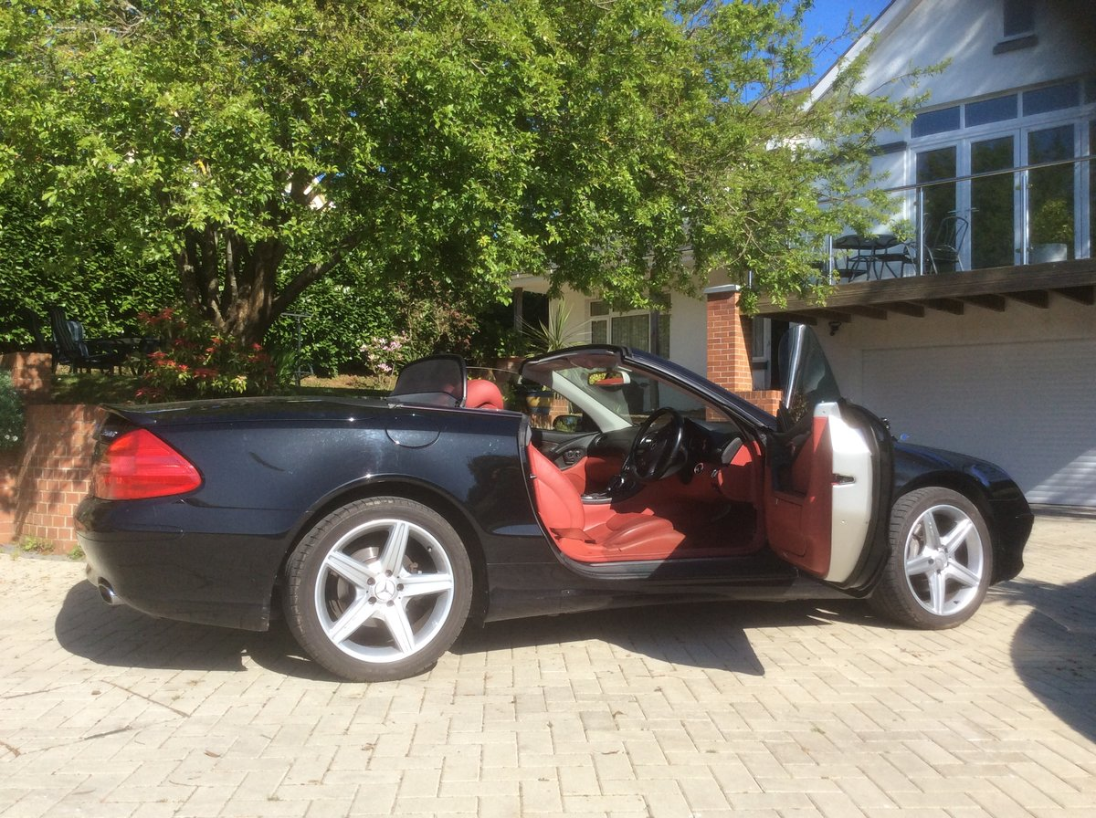 Sept 2005 Mercedes SL350 For Sale (picture 4 of 6)
