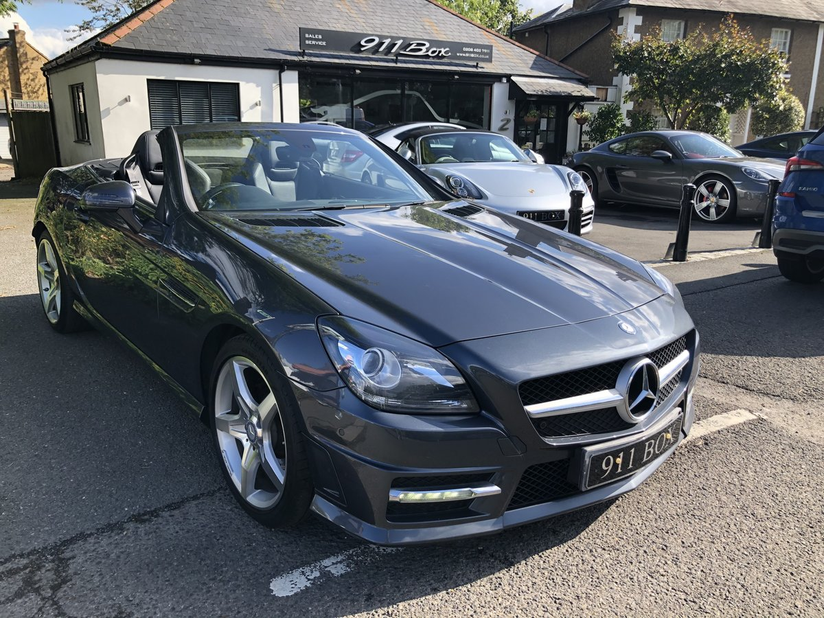 2014 MERCEDES SLK 250 CDI AMG-SPORT 7G-TRONIC For Sale (picture 1 of 6)