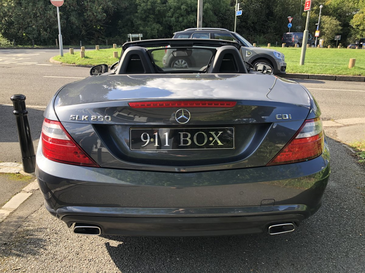 2014 MERCEDES SLK 250 CDI AMG-SPORT 7G-TRONIC For Sale (picture 6 of 6)