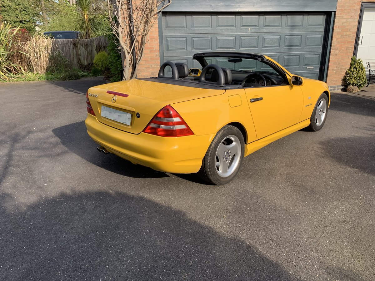 1998 Mercedes 230SLK Auto For Sale (picture 1 of 3)
