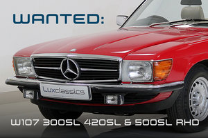 Picture of 1986 WANTED W107 300SL 420SL & 500SL RHD Wanted