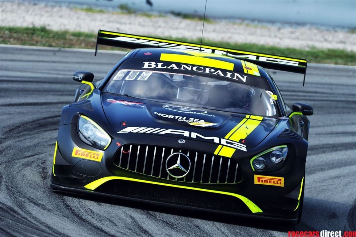 Ex Strakka Racing Mercedes Benz AMG GT3 2018 For Sale (picture 1 of 4)