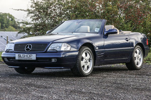 Picture of 2000 Mercedes-Benz SL320 (R129) Azurite Blue 66k #2240 For Sale