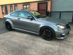 Picture of 2013 MERCEDES C63 AMG SUPERCHARGED WEISTEC 20K COVERSION MINT