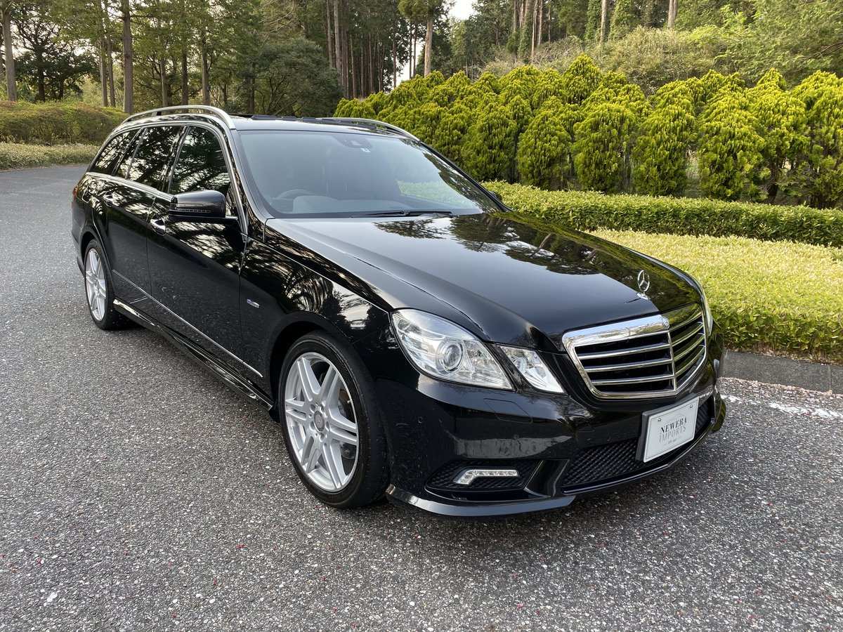 2011 E350 Bluetec Wagon AMG Night Package. Euro 6 / ULEZ Specific For Sale (picture 1 of 6)