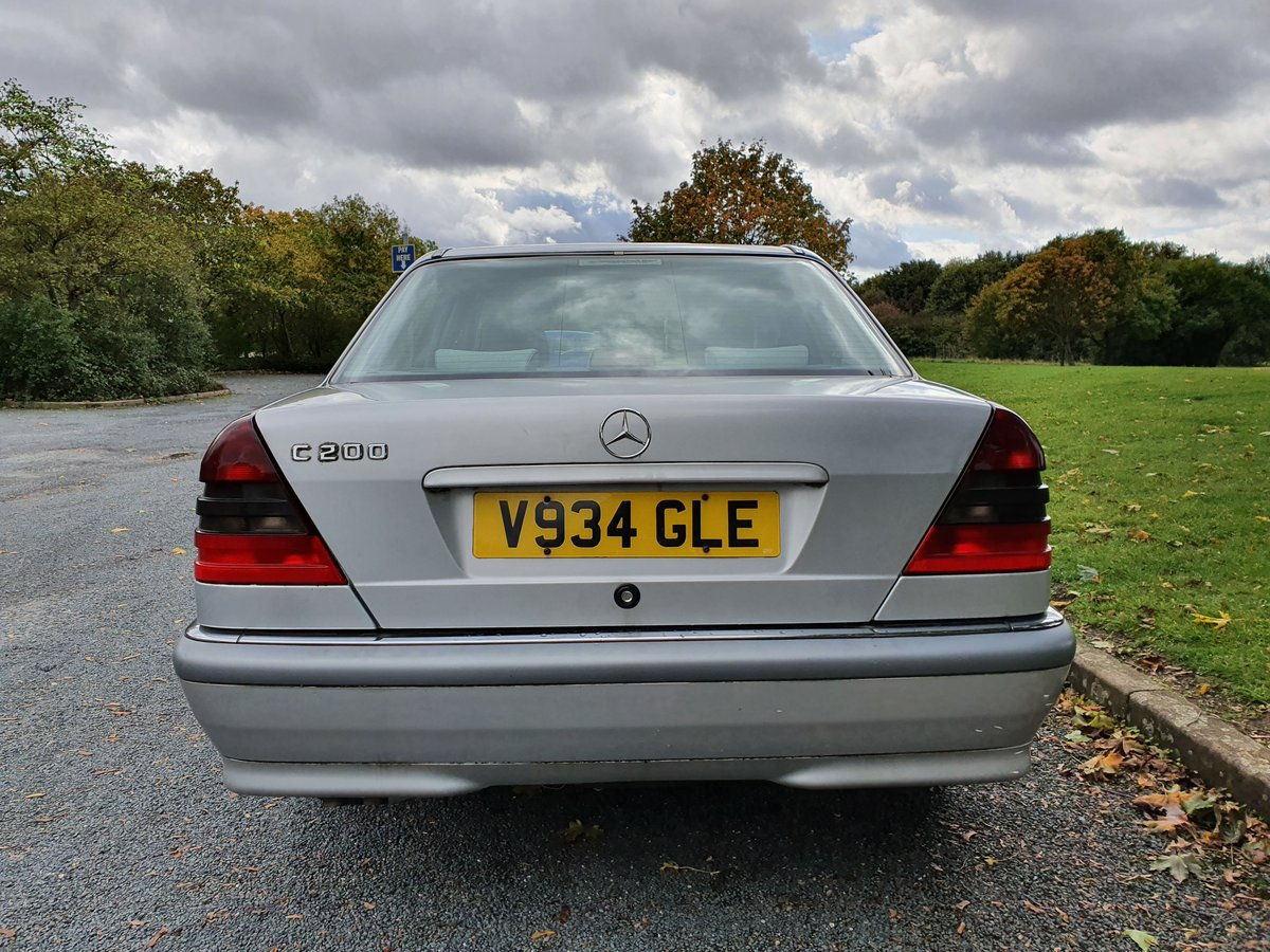 2000 Mercedes C200 Elegance Auto, Just 42K Miles For Sale (picture 3 of 6)