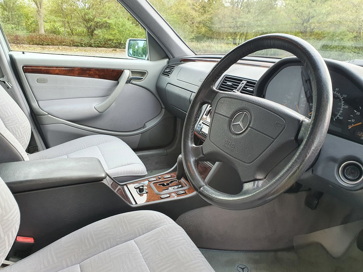 2000 Mercedes C200 Elegance Auto, Just 42K Miles For Sale (picture 5 of 6)