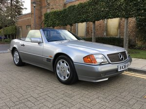 Picture of 1993 Mercedes Benz 500 SL Convertible (29,000 Miles)