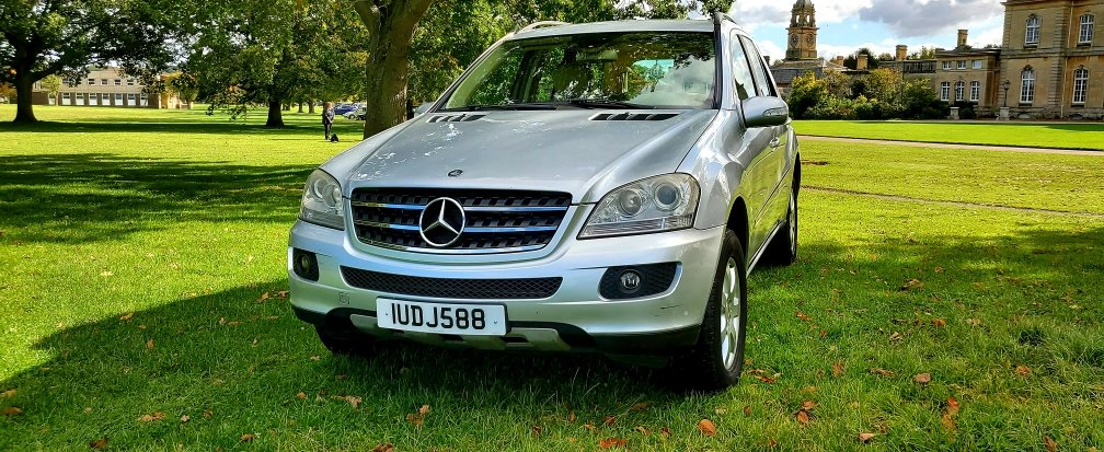 2006 LHD MERCEDES M-CLASS ML 280 CDI SE, 4X4,LEFT HAND DRIVE For Sale (picture 2 of 6)