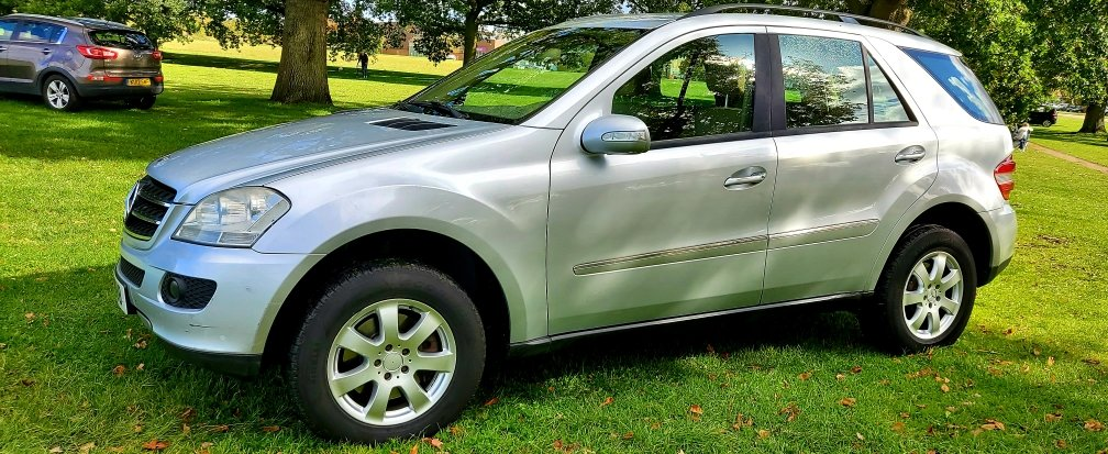 2006 LHD MERCEDES M-CLASS ML 280 CDI SE, 4X4,LEFT HAND DRIVE For Sale (picture 3 of 6)