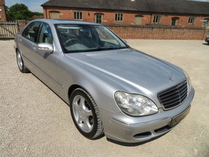 Picture of MERCEDES S320 CDI LA V6 2005 67K FROM NEW SH For Sale