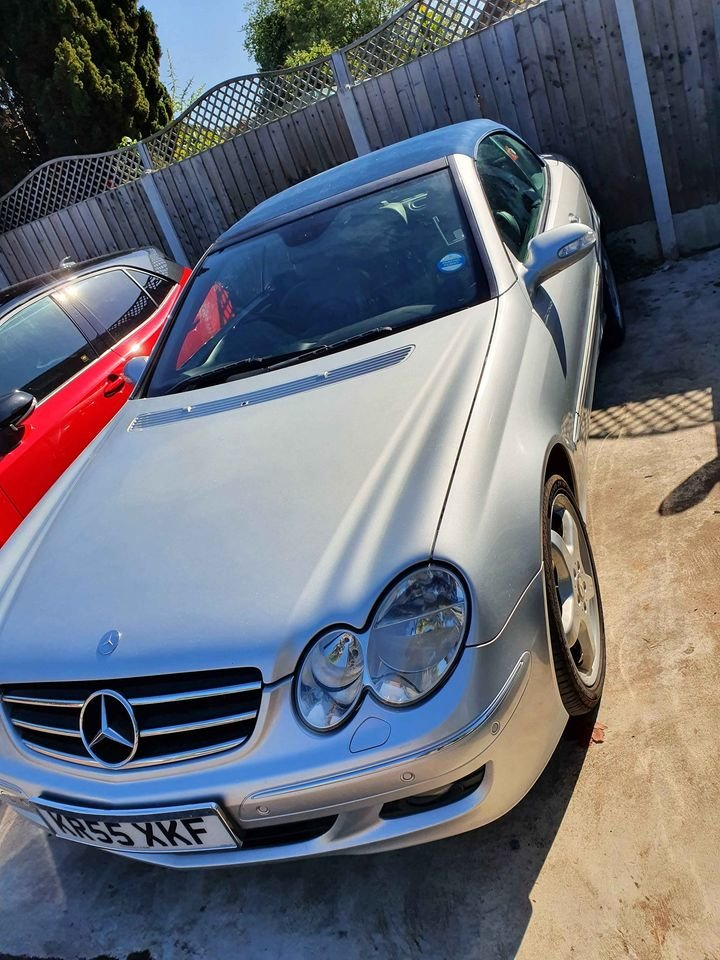 2006 My beloved Mercedes CLK For Sale (picture 2 of 6)
