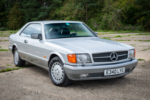 Picture of 1988 Mercedes C126 560SEC - Silver/Black Leather - Superb