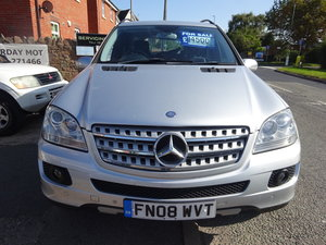 2008 ML 320 4X4 AUTO WIH A TOW BAR PART EXCHANGE CLEAR OUT