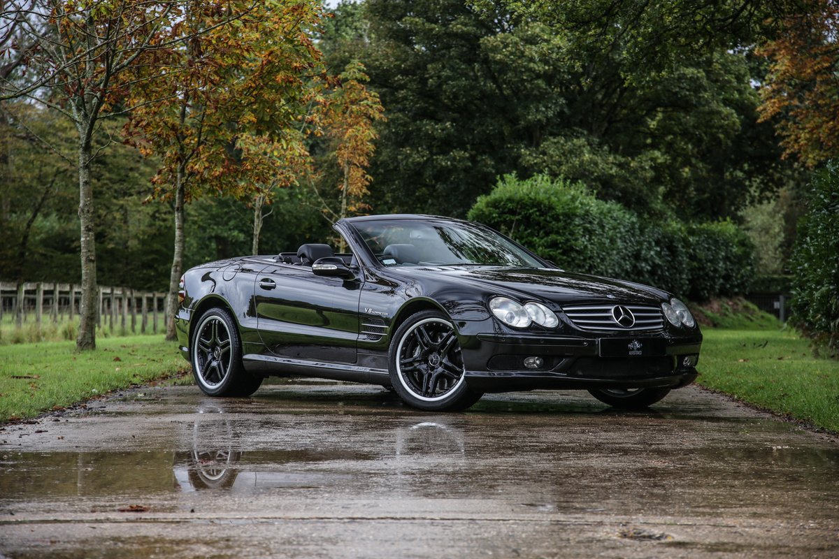 2002 Mercedes Benz SL55 AMG For Sale (picture 1 of 17)