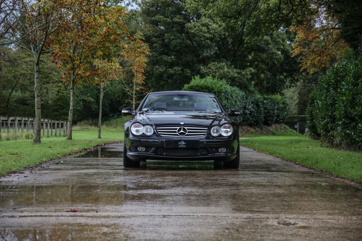 2002 Mercedes Benz SL55 AMG For Sale (picture 4 of 17)