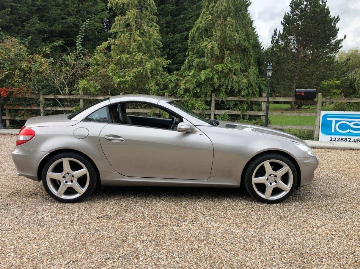2006 Mercedes SLK280 Sport 6-Speed Manual Roadster W171 For Sale (picture 3 of 6)