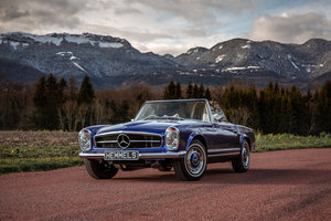 Picture of 1968 Mercedes-Benz 280 SL Pagoda in Cardiff Blue by Hemmels For Sale