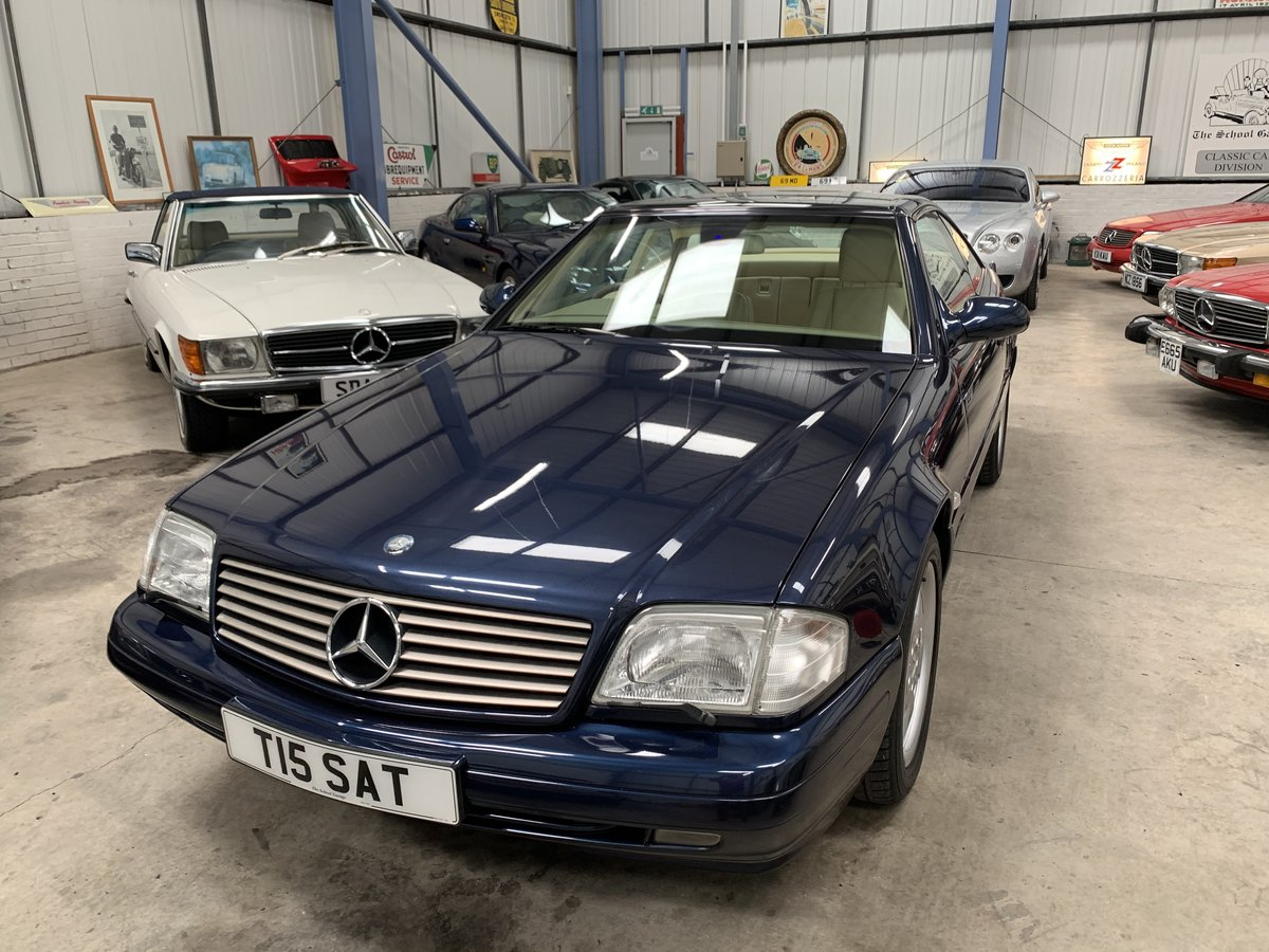 1999 MERCEDES SL320 SPORTS For Sale (picture 14 of 15)