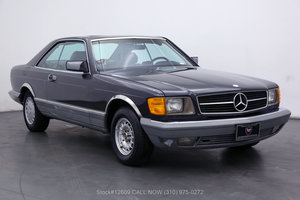 1985 Mercedes-Benz 500SEC Coupe