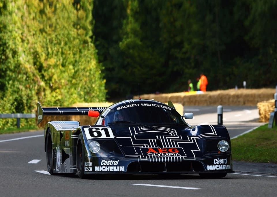 1989 Sauber Mercedes C9 Group C For Sale (picture 1 of 6)