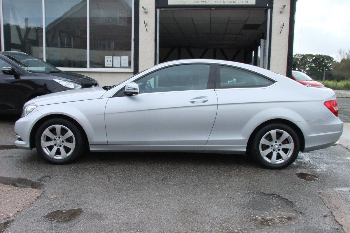 2014 MERCEDES-BENZ C CLASS 2.1 C220 CDI EXECUTIVE SE 2DR For Sale (picture 2 of 6)