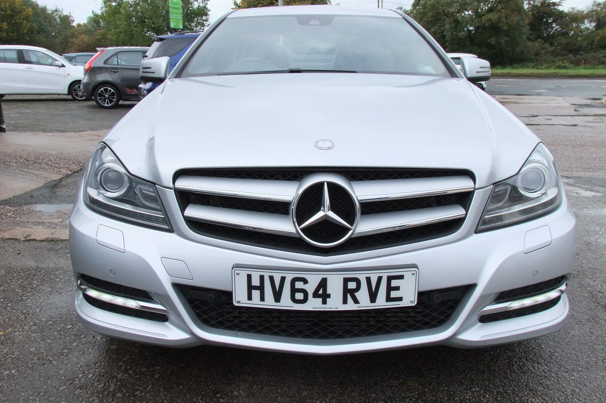 2014 MERCEDES-BENZ C CLASS 2.1 C220 CDI EXECUTIVE SE 2DR For Sale (picture 4 of 6)