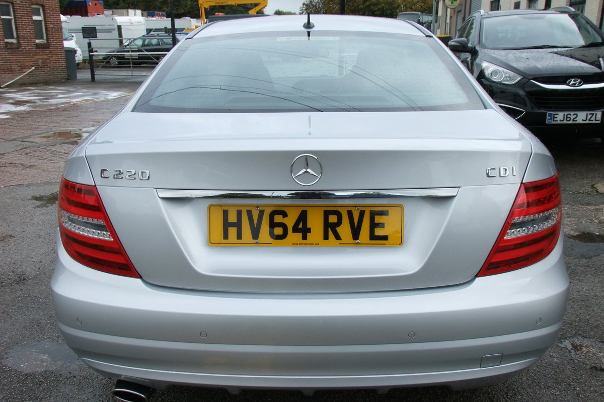 2014 MERCEDES-BENZ C CLASS 2.1 C220 CDI EXECUTIVE SE 2DR For Sale (picture 5 of 6)