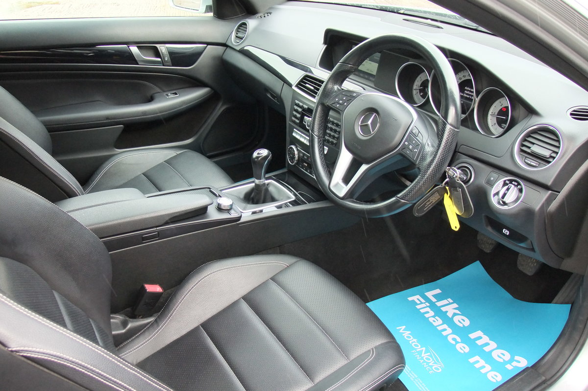 2014 MERCEDES-BENZ C CLASS 2.1 C220 CDI EXECUTIVE SE 2DR For Sale (picture 6 of 6)